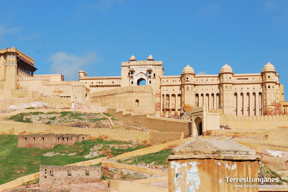 Viajes India Norte, Rajasthan. Fuerte Amber